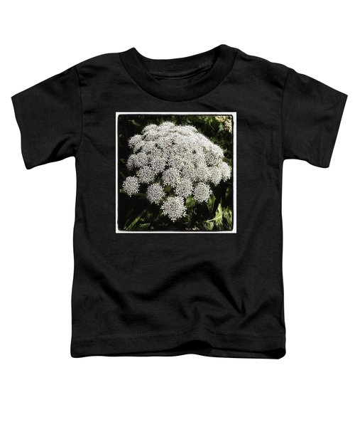 Toddler T-Shirt featuring the photograph What Flower Is This? I Think It's by Mr Photojimsf