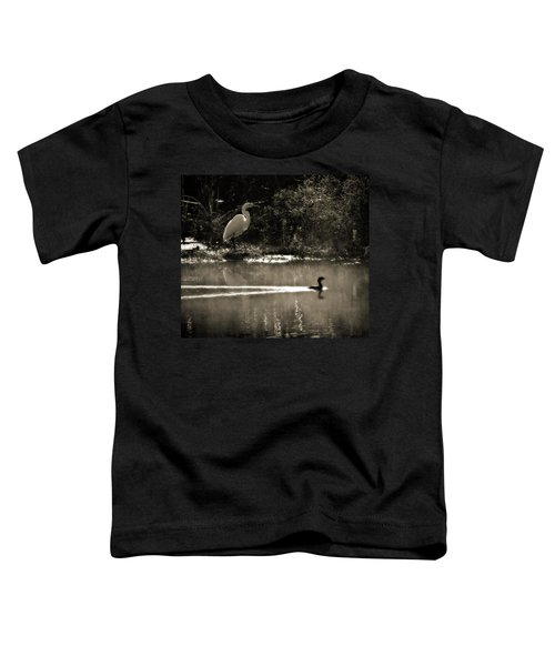 When The Morning Fog Lifted Toddler T-Shirt