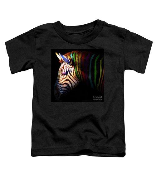 When Zebras Dream 7d8908 Square Toddler T-Shirt