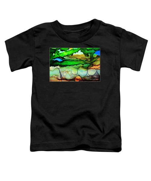 Where The Rivers Flow.. Toddler T-Shirt