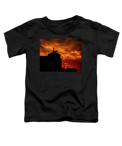 While Rome Burns Toddler T-Shirt