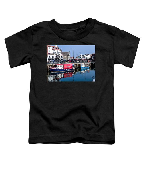 Whitby Harbor, United Kingdom Toddler T-Shirt