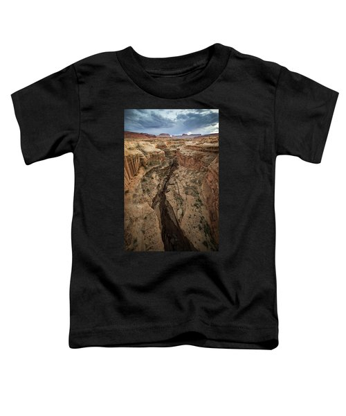Toddler T-Shirt featuring the photograph White Canyon by Whit Richardson