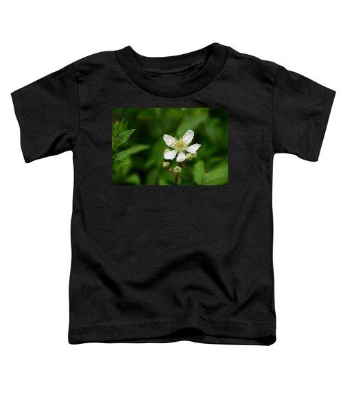 White Flower Toddler T-Shirt