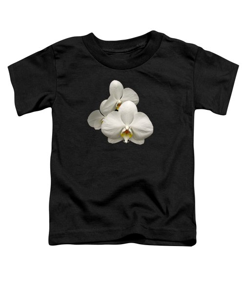 White Orchids Toddler T-Shirt by Rose Santuci-Sofranko