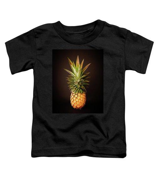 White Pineapple King Toddler T-Shirt