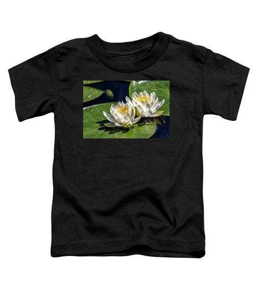 White Water Lilies Toddler T-Shirt