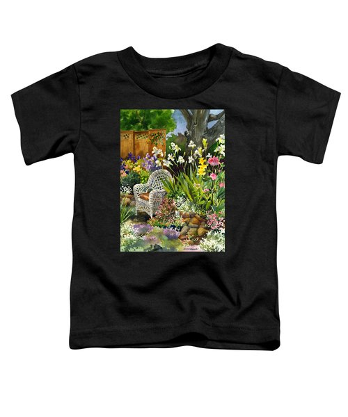 Wicker Chair Toddler T-Shirt
