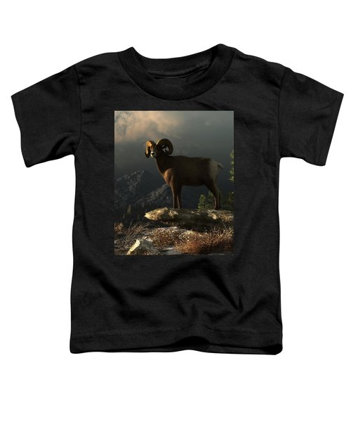 Wild Ram Toddler T-Shirt