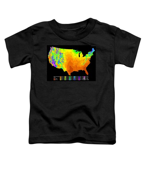 Wildfire Frequency Toddler T-Shirt