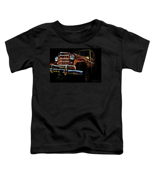 Willy's Station Wagon Toddler T-Shirt