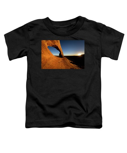 Toddler T-Shirt featuring the photograph Wilson Arch 2 by Whit Richardson