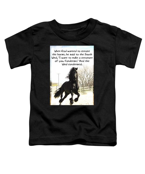Wind In Your Mist Toddler T-Shirt