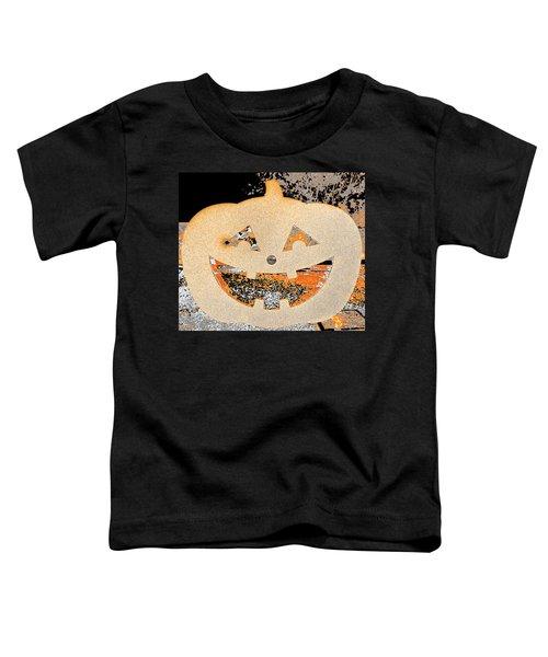 Window Pumpkin #3 Toddler T-Shirt