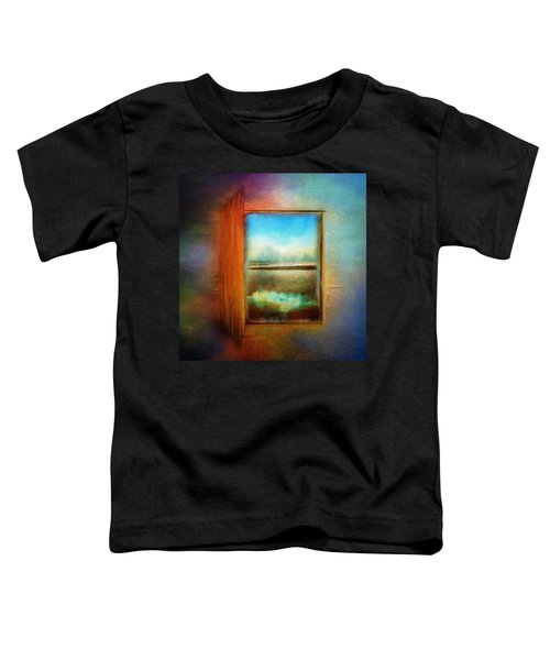 Window To Anywhere Toddler T-Shirt
