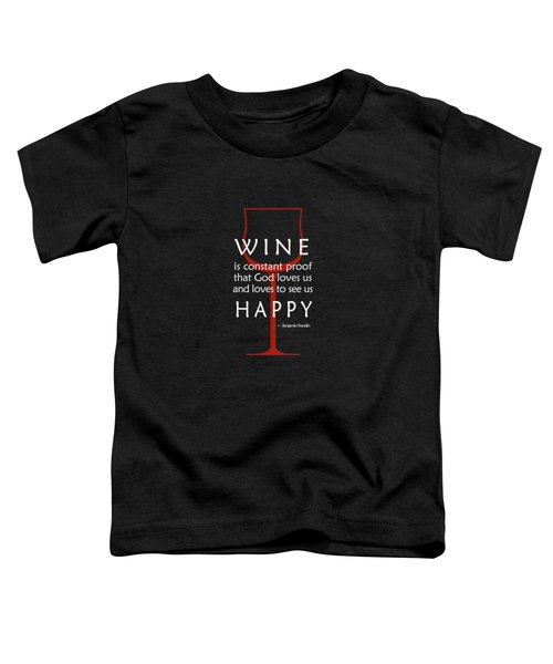 Wine Glasses 2 Toddler T-Shirt
