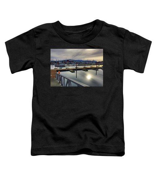 Winter Harbor Toddler T-Shirt