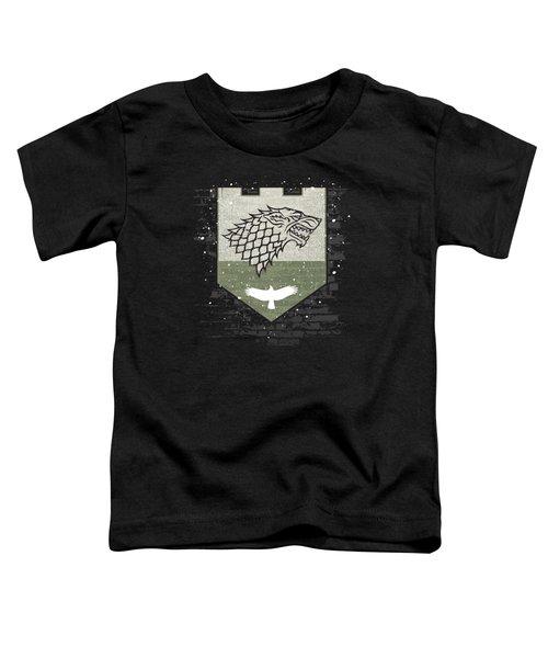 Winter Is Here Stark Banner Toddler T-Shirt