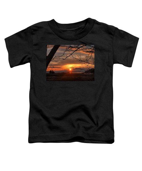 Winter Sunrise  Toddler T-Shirt