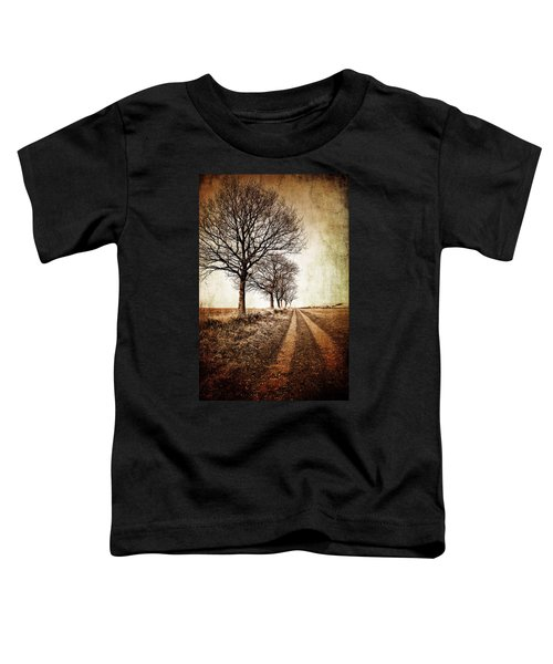 Winter Track With Trees Toddler T-Shirt