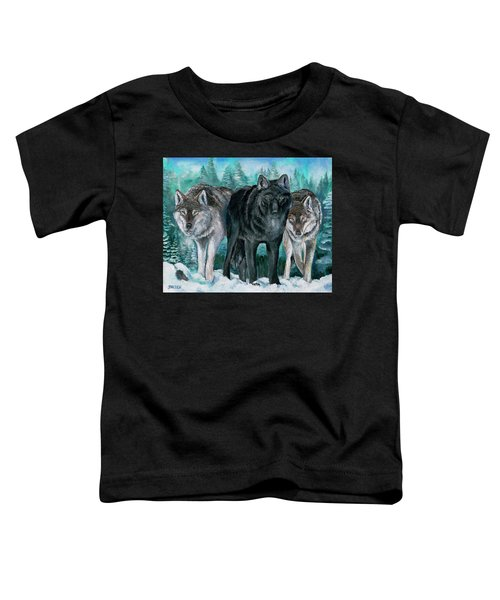Winter Wolves Toddler T-Shirt
