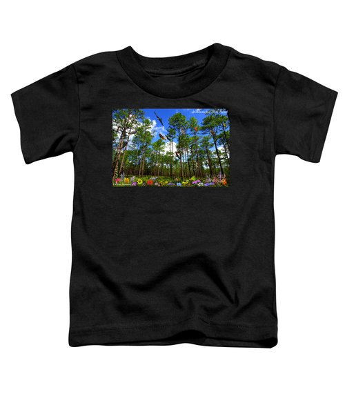Withlacoochee State Forest Nature Collage Toddler T-Shirt