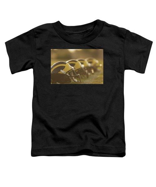 Wolverine Helmets Sparkling In Dawn Sunlight Toddler T-Shirt