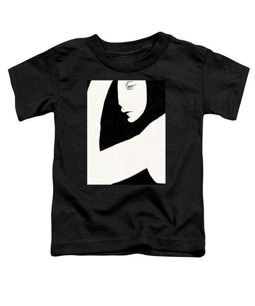 Woman In Shadows Toddler T-Shirt