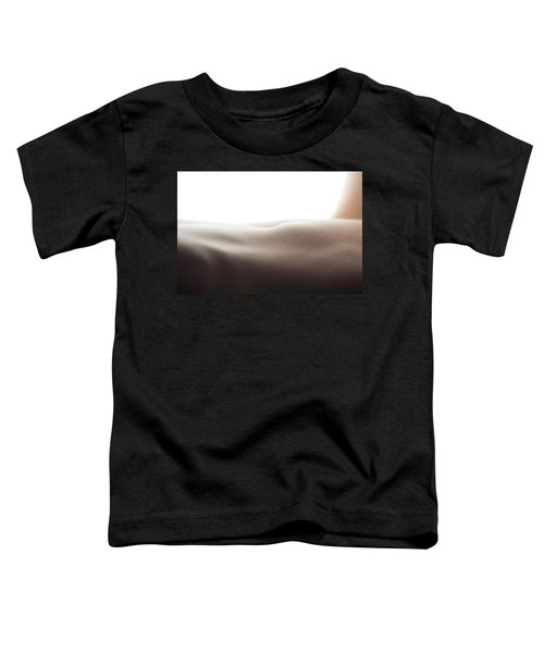 Womans Stomach Toddler T-Shirt