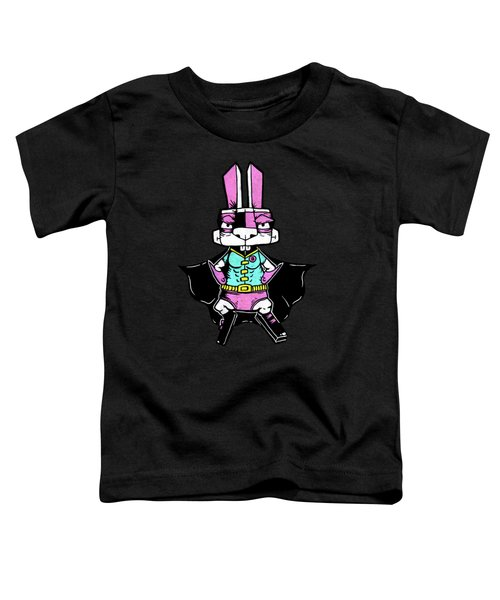 Wonder Bunny Toddler T-Shirt by Bizarre Bunny