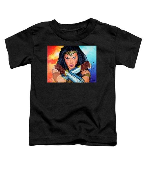 Wonder Woman Toddler T-Shirt
