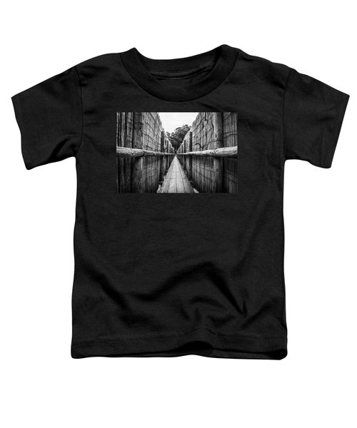 Wooden Walkway. Toddler T-Shirt