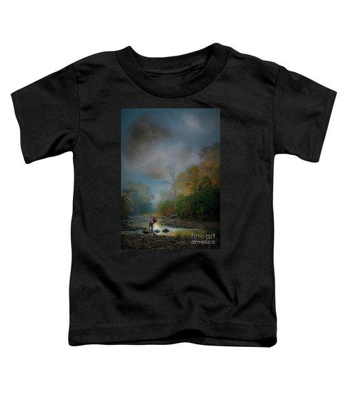 Woodland Elk Toddler T-Shirt