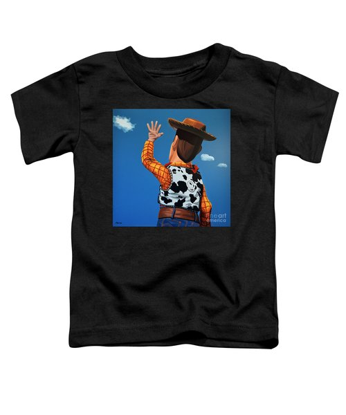 Woody Of Toy Story Toddler T-Shirt