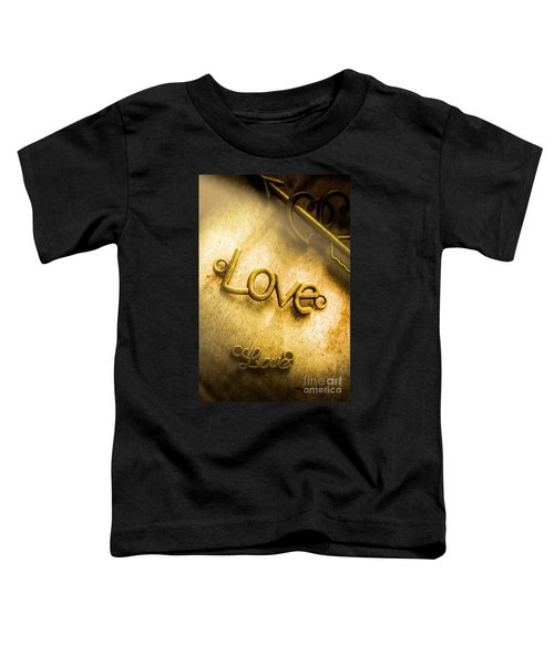 Words And Letters Of Love Toddler T-Shirt