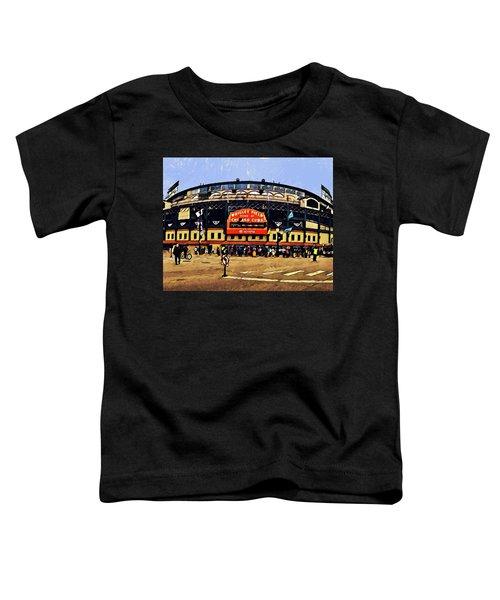 Wrigley Field Toddler T-Shirt