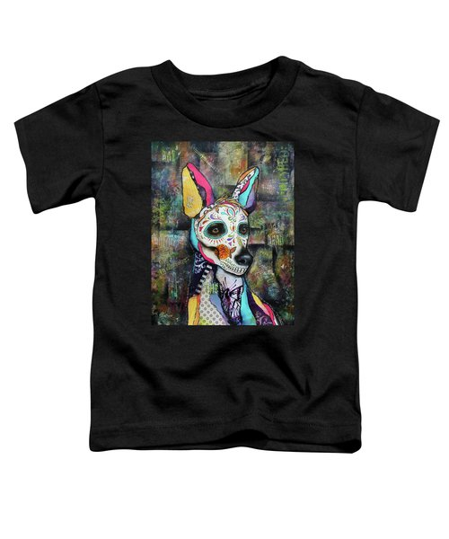 Xolo Mexican Hairless Day Of The Dead Toddler T-Shirt