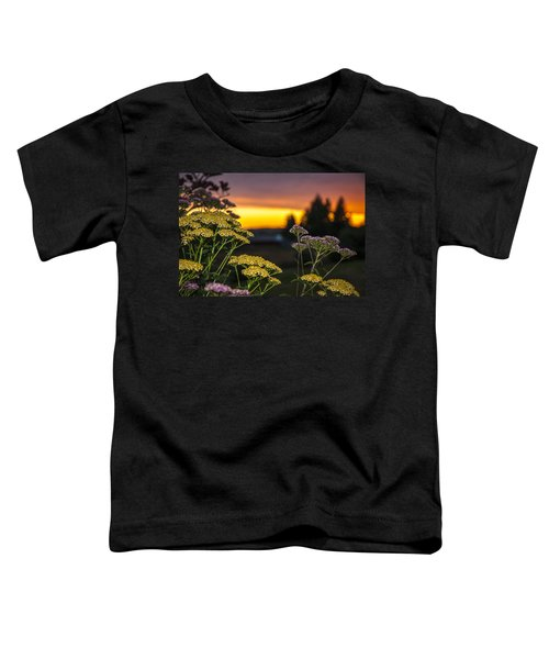 Yarrow At Sunset Toddler T-Shirt