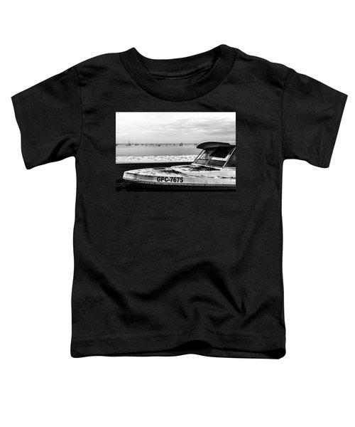 Yeah I Gotta Boat  Toddler T-Shirt