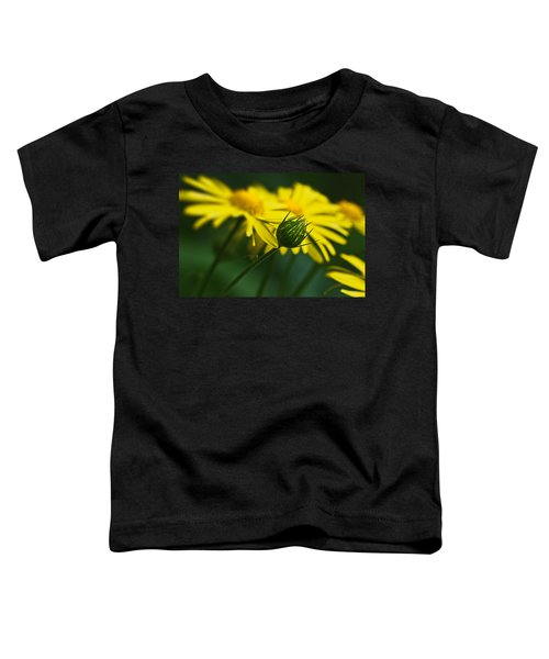 Yellow Daisy Bud Toddler T-Shirt
