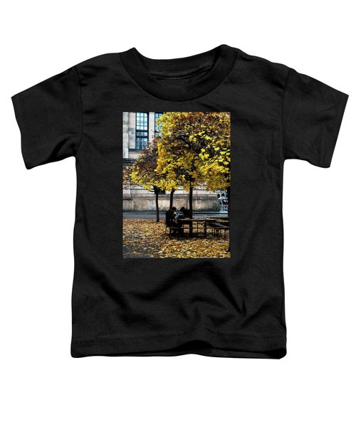Yellow Lunch Toddler T-Shirt