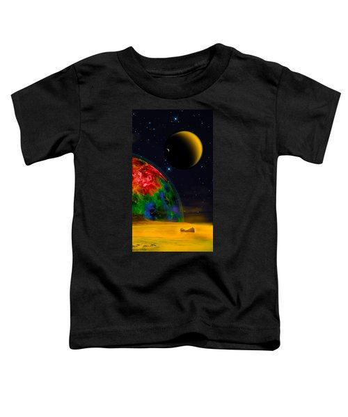 Yellow Sea On Kepler 186d Toddler T-Shirt