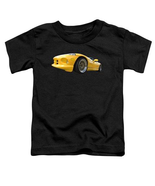 Yellow Viper Rt10 Toddler T-Shirt by Gill Billington