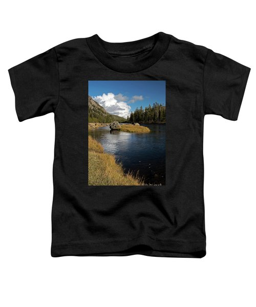 Yellowstone Nat'l Park Madison River Toddler T-Shirt