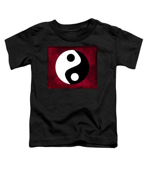 Yin And Yang Toddler T-Shirt