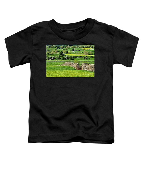 Yorkshire Dales Landscape Toddler T-Shirt