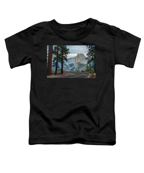 Yosemite Glacier Point Toddler T-Shirt