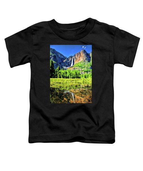 Yosemite National Park Bridalveil Fall Toddler T-Shirt