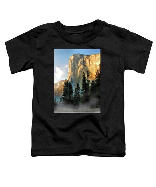 Yosemite National Park El Capitan Toddler T-Shirt