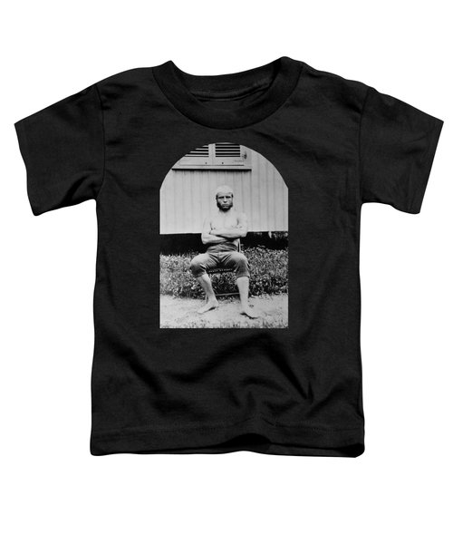 Young Teddy Roosevelt Shirtless - 1879 Toddler T-Shirt